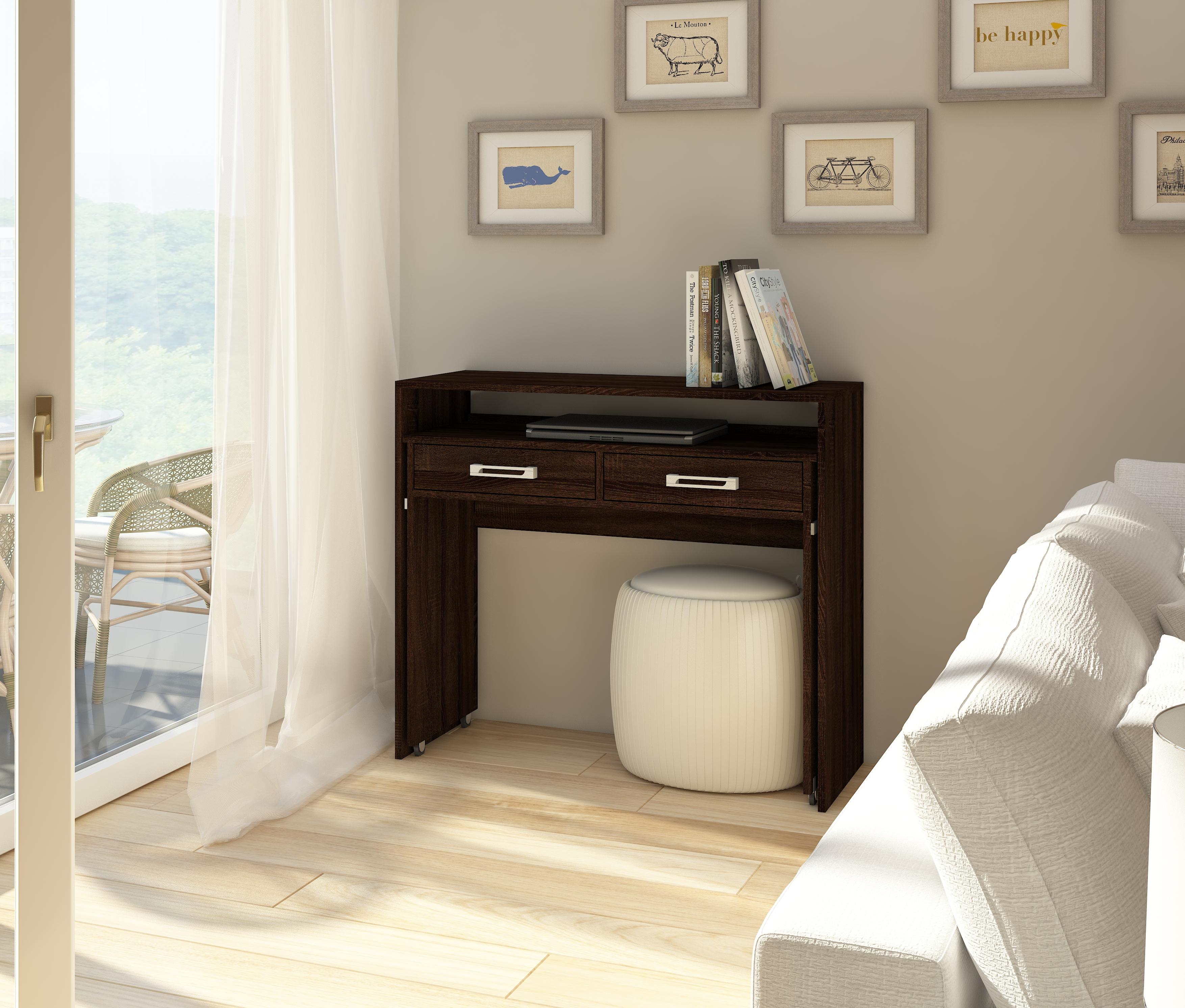 PC stolík - WIP - Zoom dub sonoma tmavý. Sme autorizovaný predajca WIP. Vlastná spoľahlivá doprava až k Vám domov.
