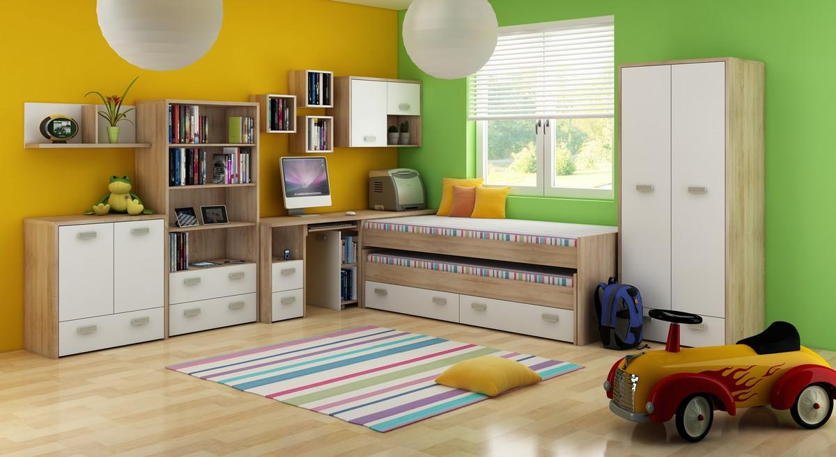 Detská izba - WIP - Kitty 1 Sonoma svetlá + biela